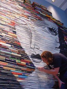 Book paintings.
