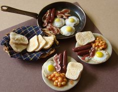 Miniature British Breakfast | Flickr - Photo Sharing!