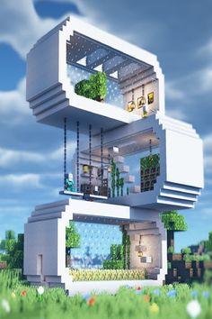 Modern Minecraft Houses, Minecraft House Plans, Minecraft Farm, Minecraft Mansion, Minecraft Cottage, Minecraft House Tutorials, Minecraft Castle, Minecraft House Designs, Minecraft Architecture