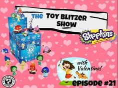 The ToyBlitzer Show Ep 21 Mystery Inside Out & Shopkins | Surprise | Gue...