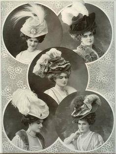 Hats, 1907