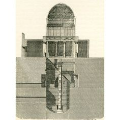 The Nilometer Island of Rhoda Egypt in the 19th century A Nilometer was a structure for measuring the Nile Rivers clarity and water level during the annual flood season From The Imperial Bible Diction