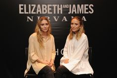 Mary-Kate and Ashley Nirvana Fragrance - Mary Kate Ashley Olsen Interview - Marie Claire