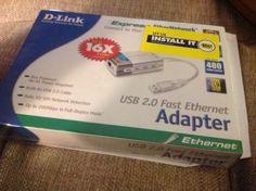 NEW-IN-BOX-D-Link-DUB-E100-Hi-Speed-USB-10-100Mbps-Network-Ethernet-Adapter #ebay #sold #dlink #adapter #kenblackcat