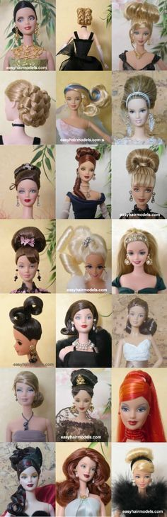 barbie hairstylessomebody's getting a new 'do The post Little Known Ways to Make Doll Clothes Yourselves appeared first on Hair Styles. Barbie I, Barbie World, Barbie And Ken, Barbie Dress, Barbie Clothes, Barbie Stuff, Barbie Hairstyle, Doll Hairstyles, Vintage Hairstyles