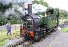 'Countess' narrow gauge, Beyer Peacock. Welshpool and Llanfair Light Railway