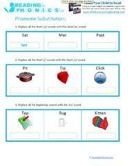 30 best Phonemic Awareness images on Pinterest in 2018   Preschool ...