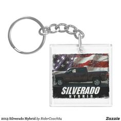 2013 Silverado Hybrid Keychain