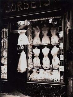 Artnet Auctions  Eugene Atget, Corsets, 1912