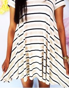 Striped for spring!
