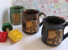 T-Rex Mugs!  I want and/or need these asap.