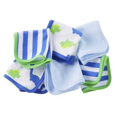 Just One You�Made by Carter's� Newborn Boys' 6 Pack Dinosaur Washcloths - Blue