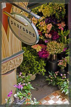 Pearsons Florist shop