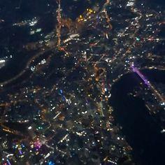 Brisbane from the air. Insta Videos, Nightlights, Brisbane, Pretty, Instagram