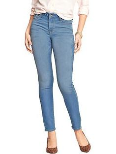 Women's The Rockstar Mid-Rise Super-Soft Knit Jeans | Old Navy