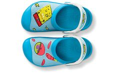 Spongebob™ & Patrick™ Star Splash in the Sea Custom Clog