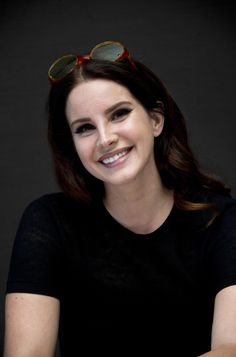 Lana Del Rey at the 'Big Eyes' press conference