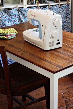 Ikea INGO Hack Table Makeover
