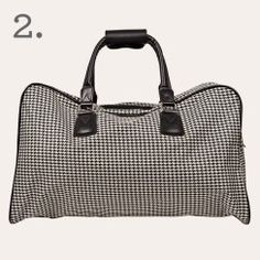 Citta Design Houndstooth Travel Bag