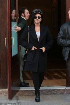Demi Lovato New York City October 30 2015