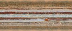 Jupiter ist der König unseres Sonnensystems: Kein Planet ist größer – er ist zweieinhalb Mal so massereich wie alle anderen Planeten zusammen genommen – und seine bunte, stürmische Atmosphäre macht…