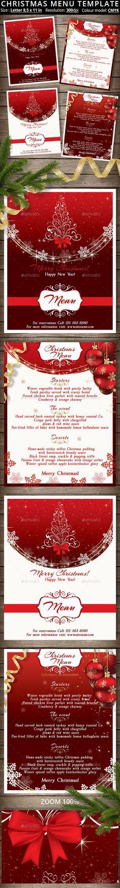 Christmas Party Flyer Party flyer, Christmas flyer and Flyer - free xmas menu templates
