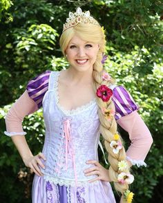 Make your child's birthday the BEST DAY EVER! #TangledTuesday #Rapunzel #girlygirlparteas