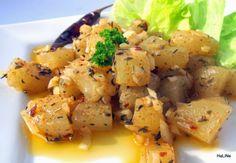 Nejedlé recepty: Salát z olomouckých tvarůžků
