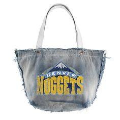 Denver Nuggets NBA Vintage Denim Tote
