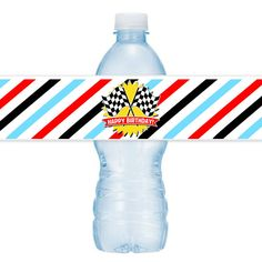Race Car Party #Personalized #Bottle #Labels by BushelandPeckPaper on Etsy https://www.etsy.com/listing/237501951/race-car-party-personalized-bottle