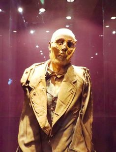 Beware of the most bizzare mummies you will ever see in the world! This unique exhibit is one of the most famous attractions in Mexico. Mummy Museum, Red Leather, Leather Jacket, Bonnie N Clyde, Exhibit, Studded Leather Jacket, Leather Jackets