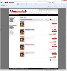 Formule 1 webshop