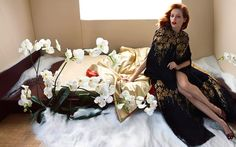 Blumarine AW2014-15 inspired Trevor Cole / in the Fall Scape