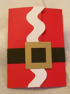 cool santa christmas card! love it.