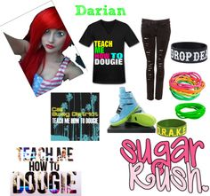 """""""TEACH ME HOW TO DOUGIE"""" by hellokitting on Polyvore"""