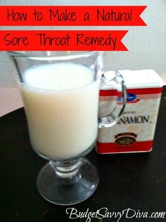 How to Make a Natural Sore Throat Remedy. Even if it doesn't relieve the sore throat, I bet it will taste yummy. Sore Throat Remedies, Flu Remedies, Herbal Remedies, Health Remedies, Cocina Natural, Home Health, Tips Belleza, Health And Beauty Tips, Natural Home Remedies