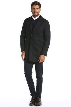 cappotto in panno stampato collo pistagna - sonnybono.com