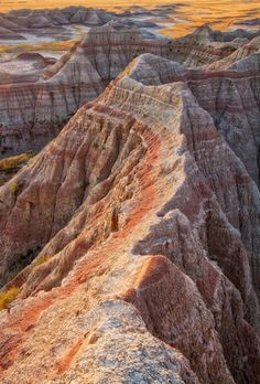 Badlands national park, South Dakota, The colors are unbelievable. Badlands National Park, National Parks Usa, The Places Youll Go, Places To See, Photos Voyages, South Dakota, Travel Usa, National Geographic, Trip Planning
