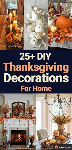 DIY Thanksgiving Decorations for Home to try this year! Check these cheap and easy rustic Thanksgiving decorations table, for porch, for outdoor. Best Thanksgiving crafts ideas for kids to take part in DIY Thanksgiving party! Thanksgiving Decorations Outdoor, Simple Table Decorations, Outdoor Thanksgiving, Thanksgiving Crafts For Kids, Thanksgiving Table Settings, Thanksgiving Centerpieces, Thanksgiving Parties, Rustic Thanksgiving Decor, Decorating For Thanksgiving