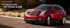 2014 and 2013 Cadillac SRX  Special deals, offers, discounts and incentives on new and used Cadillac vehicles from Chevrolet Cadillac of Santa Fe http://www.santafechevroletcadillac.com/CorporateIncentives