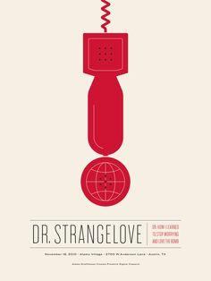 Dr. Strangelove Poster by Jason Munn