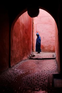Marrakech. The stranger by Philippe CAP