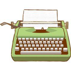 typewriter keys illustration - Google Search