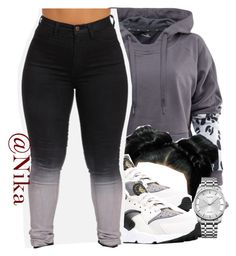 """""""50 shades """" by liveitup-167 ❤ liked on Polyvore featuring adidas, NIKE and Calvin Klein"""