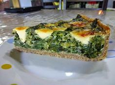 COCINA LIGHT: Tarta de acelga super fácil y liviana Fruit Recipes, Veggie Recipes, Cooking Recipes, Healthy Recipes, Healthy Meals, Healthy Food, Quiches, Tortas Light, Salada Light