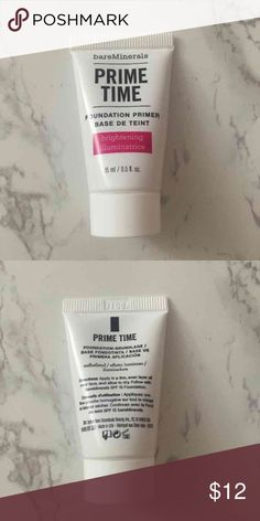 Bare Minerals Foundation Primer 0.5 fl oz Never Used  Price Is Firm bareMinerals Makeup Face Primer