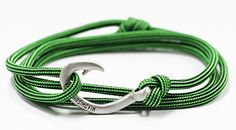Chasing Fin Adjustable Circle Fish Hook Bracelet Green Snake *** Check out this great product.Note:It is affiliate link to Amazon.