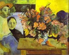 Paul Gauguin Paintings Index - 1891 -1893 - PART 4   Chronologically arranged in alphabetical order with signature and inscription details   Images and list of works & Oeuvres.   Gauguin Authentication