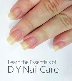 You don't need to spend your hard-earned money at the nail salon to keep your nails beautiful and strong. Learn the basics of at-home nail care in this lesson. Nail Care Tips, Manicure Tips, Diy Nails, Beauty Spa, Diy Beauty, Beauty Hacks, Beauty Ideas, Hand Care, Girly Things