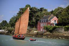 Le sinagot, un des bateaux traditionnels du Golfe du Morbihan.